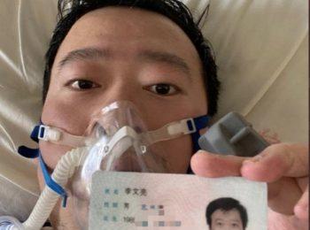 Wenliang è morto, il coronavirus l'ha ucciso!