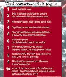 Punto 7: usa la mascherina solo se sospetti di essere malato o assisti persone malate